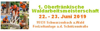 Oberfränkische Waldarbeitsmeisterschaften